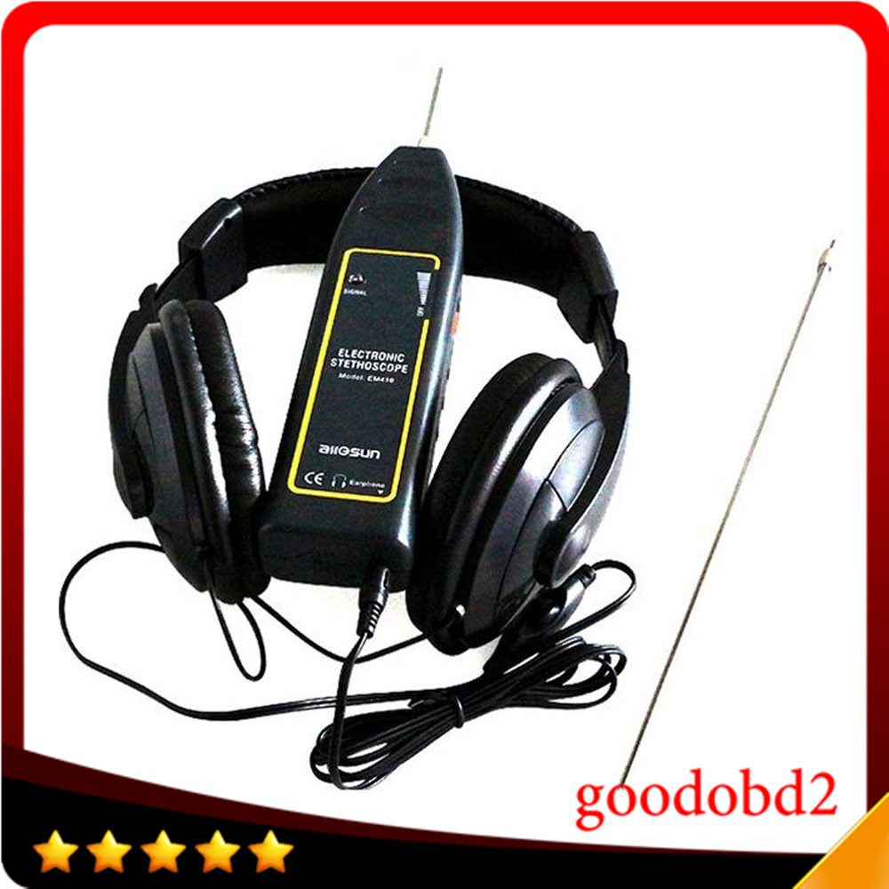 EM410 Automotive Electrical Stethoscope Car Noise Finder Diagnostic Detector Listening Device Machine