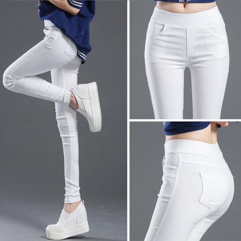 2020new High Waist Pencil Woman's Pants Autumn Black Leggings Elastic Trousers For Women Female Fashion Clothes Woman