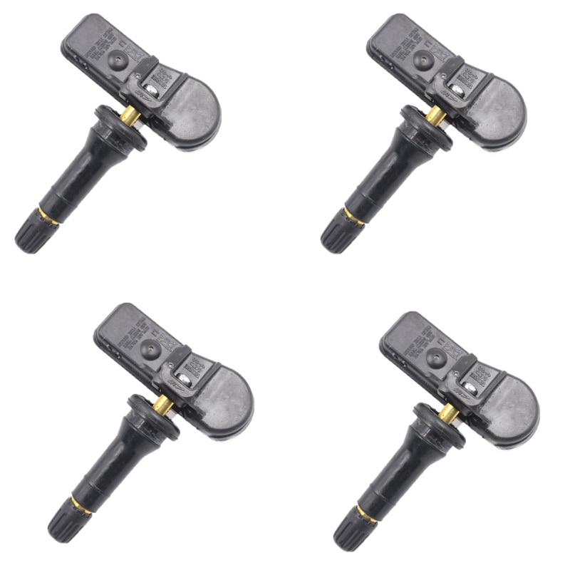 YAOPEI 4 STKS Hoge Kwaliteit TPMS Sensor Auto Bandenspanningscontrole Systeem Voor Peugeot Voor Citroen 9811536380 9673860880 433 Mhz