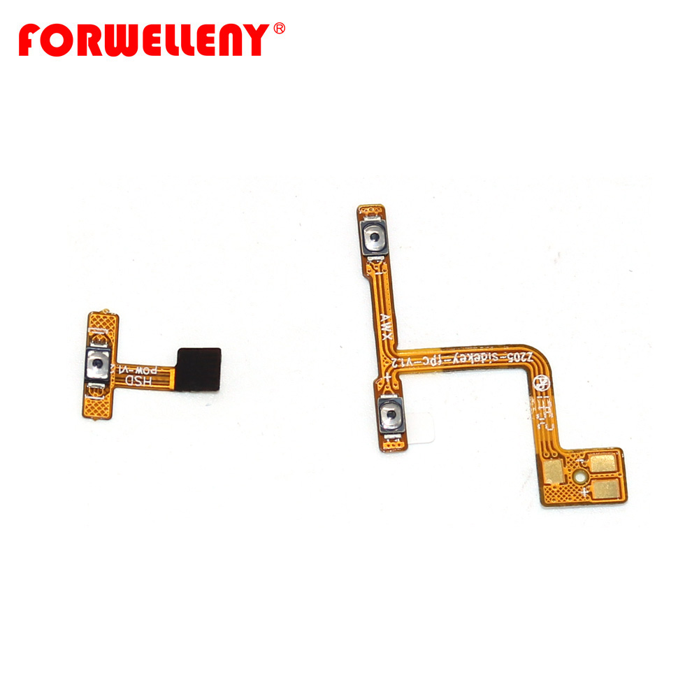 For Meizu M6s S6 Power Switch On/Off Button Volume Control Key Button Flex Cable