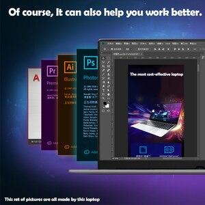 Image 5 - كمبيوتر الألعاب المحمول 15.6 بوصة هيكل معدني إنتل i7 6500U 8GB RAM 512 GB SSD 2G مخصص بطاقة الفيديو دفتر لمكتب الألعاب