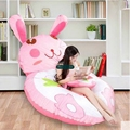 Dorimytrader 200cm X 150cm Giant Cartoon Rabbit Beanbag Plush Soft Stuffed Bunny Bed Sofa Mattress Tatami Nice Gift DY61451