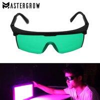 Profissional led crescer luz sala óculos uv óculos de polarização para crescer tenda de efeito estufa hidroponia planta olho proteger óculos|Peças e acessórios p/ luz| |  -