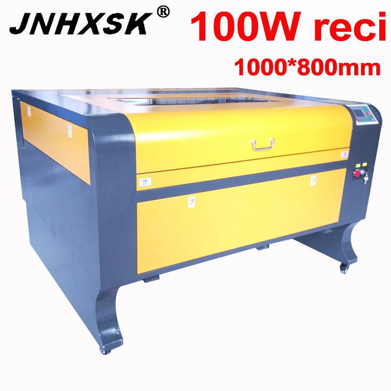 JNHXSK 100W reci 1080 laser engraving cutting machine laser cutter woodworking acrylic leather cnc ruida control system Wood Routers     - title=