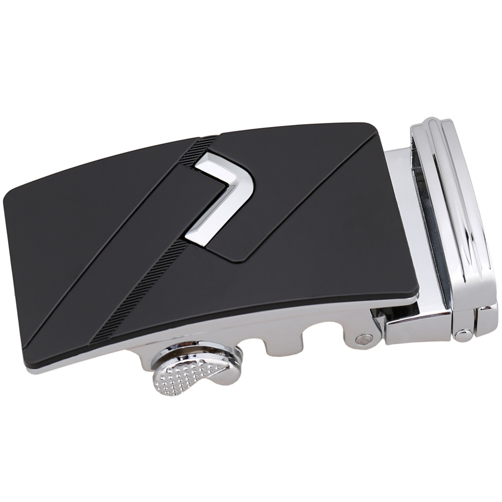3.5cm Width Automatic Belt Buckle Luxury Brand Western Cowboy Dress Belt Buckles For Man CE36-0643