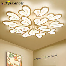 Luminaire Modern Led Ceiling Light Lustre Lamp Acrylic Led Ceiling Lamp For Living room Bedroom Dining room Kitchen Lampara tech lukloy crystal modern led ceiling lamp lustre led ceiling light for bar living room bedroom kitchen lighting fixture dining room