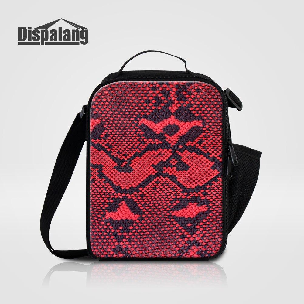 Мужские Термо-холщовые сумки для ланча, лисы, волка, динозавра, змеи, для мальчиков, сумка-холодильник для еды, пикника, Детская маленькая сумка-Ланч-бокс на молнии для школы - Цвет: Lunch Bag22