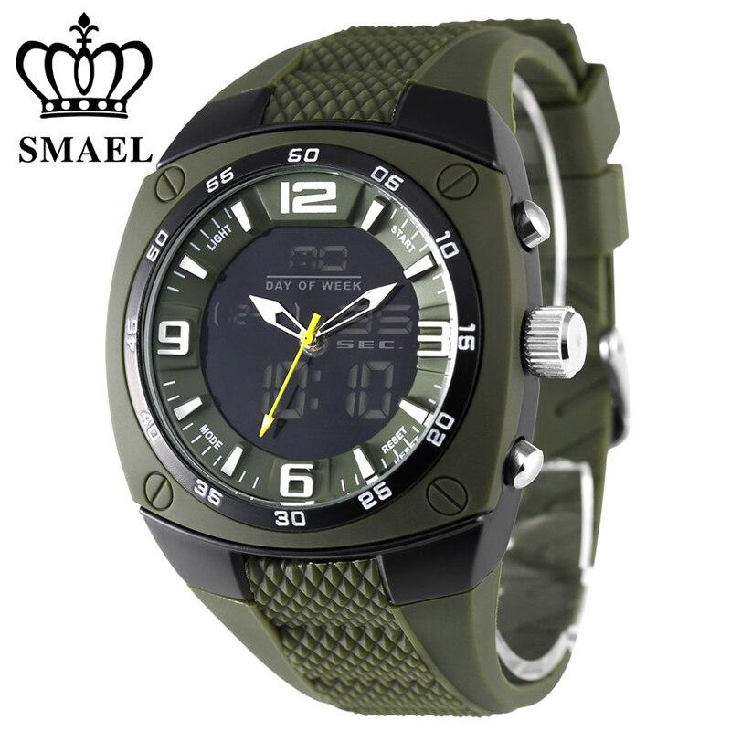 Top marque de luxe hommes S choc Sports de plein air montres Quartz heure montre numérique militaire 50 m LED étanche horloge G montre-bracelet