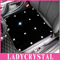 Ladycrystal Luxury Diamond Car Seat Covers For Benz For BMW General Cushion Car Seat Covers Auto Interior Decoration Accessories