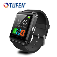 Tufen smart watch u8 mujer hombre deporte bluetooth smartwatches para apple iphone ios android teléfonos rusia