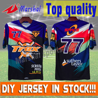Small Order Acceptable Dye Sublimation Customized Cheap Authentic Sports Jerseys