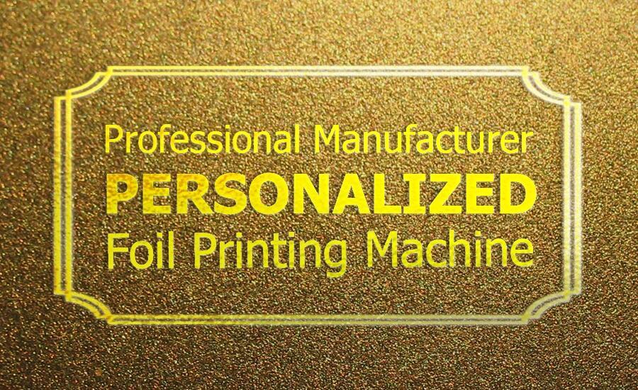 LY 400A foil press machine digital hot foil stamping printer ...