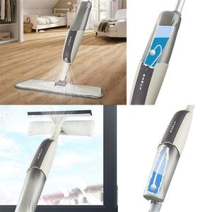 Image 5 - 2 In 1 Spray Mopp Und Fenster Reinigung Set, Boden Mopp für Küche, Bad, Hartholz, laminat, Holz, Keramik Fliesen, Fenster Glas
