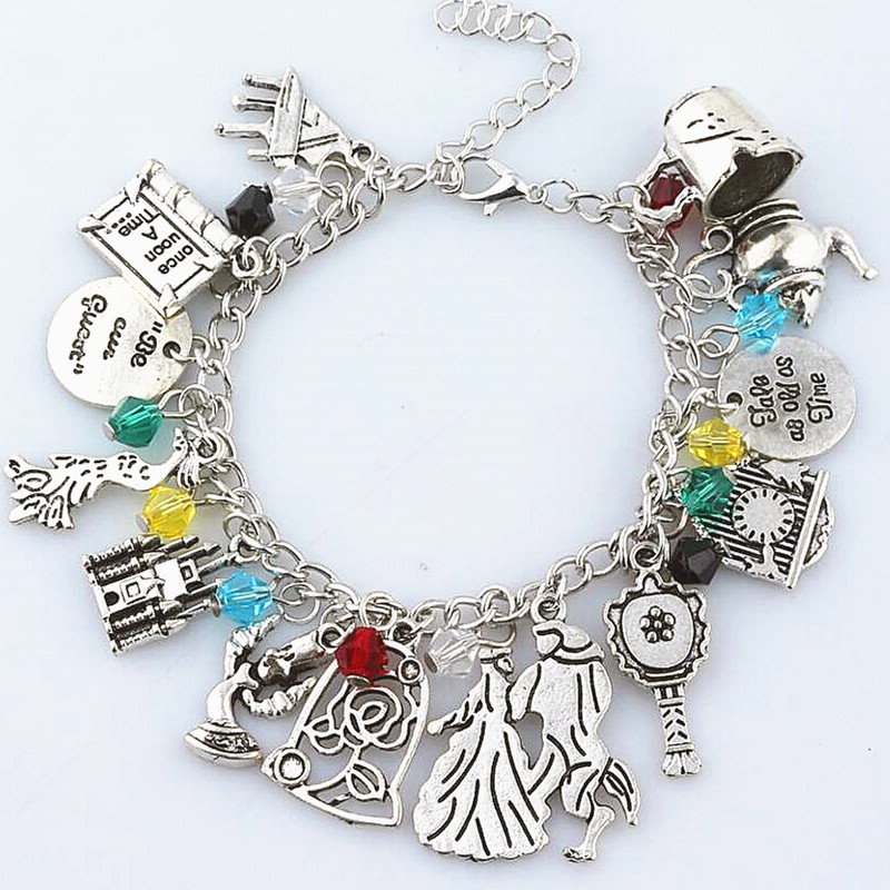 Movie Once Upon A Time Beauty and the Beast Broken Cup Pot Charm Girls women