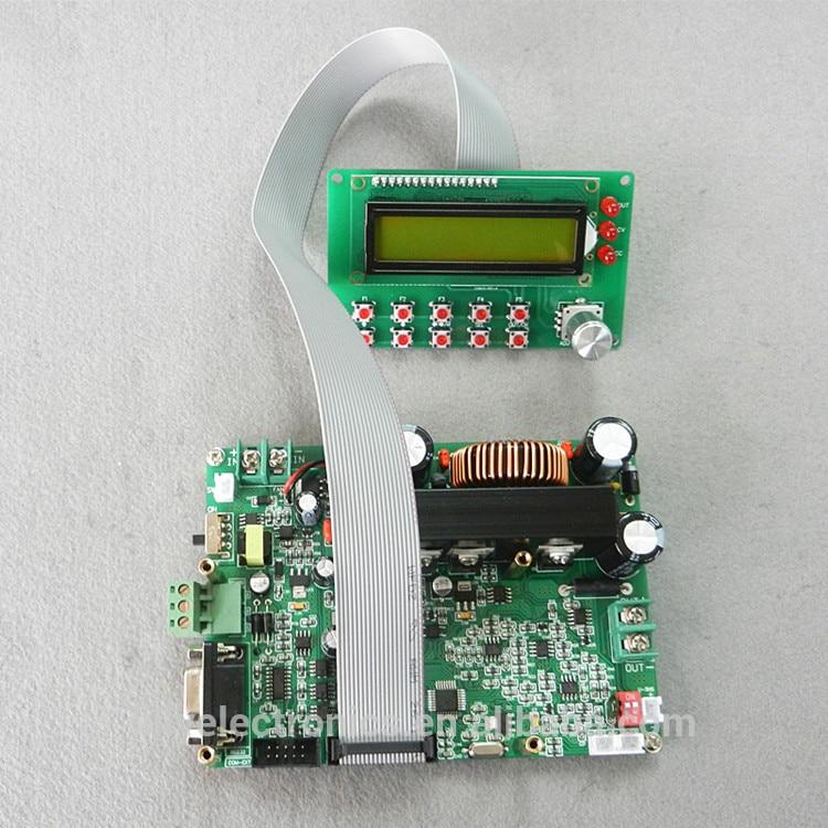 D6008a программируемый DC понижающий преобразователь Step-Подпушка модуль постоянного тока со светодиодной Дисплей Мощность шаг Подпушка Напря...