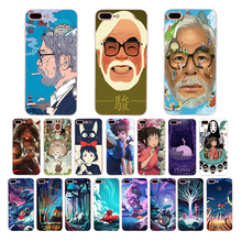 Miyazaki anime series Spirited Away soft TPU phone case for iphone xr xs max x 5 7 8 6 6s plus 5s se cover cute silicone shell