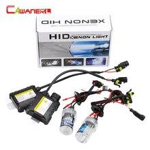 Cawanerl 55W Xenon HID KIT Ballast  Bulb H1 H3 H7 H8 H9 H10 H11 9005 9006 All Colors 4300-15000K Car Headlight Fog DRL Light