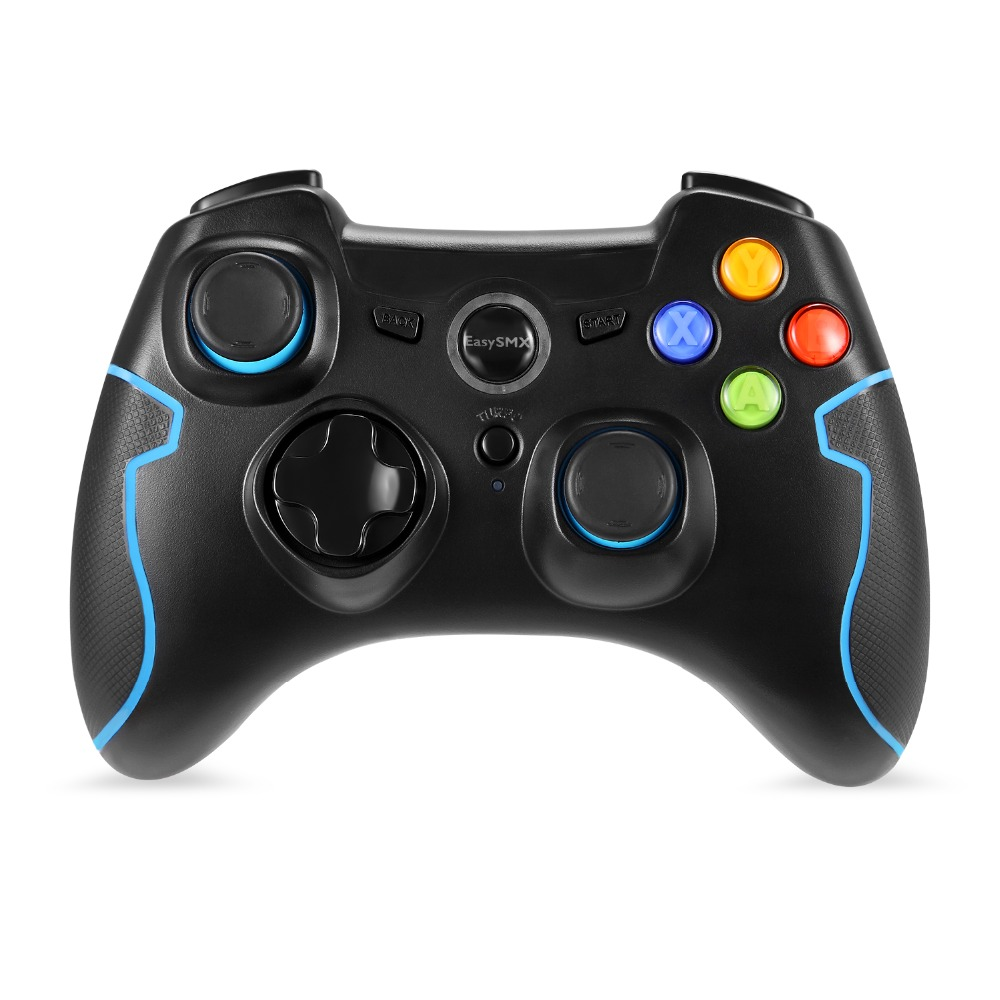 ESM-9013 Wireless Gamepad Game joystick Controller Compatible with PC Windows TV Box Android Smartphone For PS3