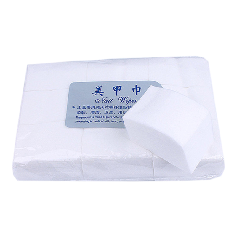 800pcs/pack Nail Cotton Wipes UV Gel Nail Polish Remover Cleaner Lint-Free Wipes Paper Pad Nail Art Cleaning Napkins Manicure