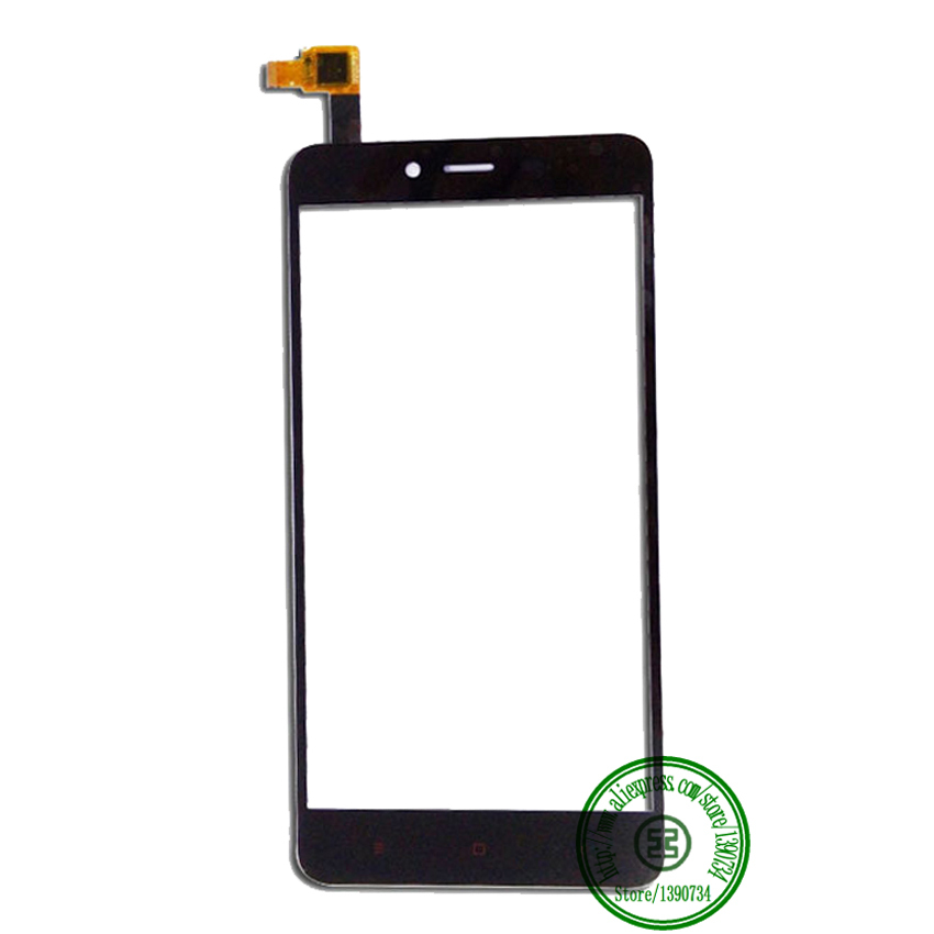 Black TOP Quality Front Glass Touch Screen Digitizer For Xiaomi Hongmi Note2 Redmi Note 2 Red Rice Note2 Mobile Repair Parts