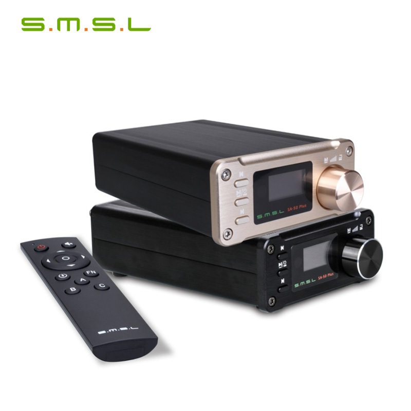 SMSL SA 50 PLUS SA50 AUX USB Mini 50W * 2 Power Digital Verstärker
