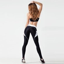 European American Fashion Women Breathable Yoga Pants Comfortable Quick Drying Ladies Gym Running Trousers Sportswear Leggings