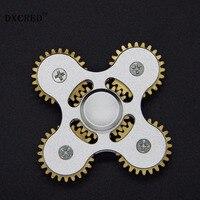 EDC Hand Spinner Fidget Spinner Anti Stress Focus Speelgoed Messing Fidget Speelgoed Plastic ADHD Hand Spinner