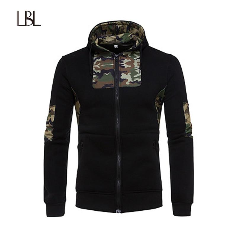 LBL Camouflage Hoodies Men Hip Hop Fashion Brand Hooded Pullover Spring Autumn Sportswear Sweatshirt Mens Tracksuits Moleton Man
