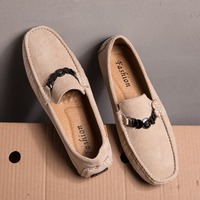 Mens Loafers Pig Suede Casual Shoes Men Italian Fashion Drive Sneaker Brand Footwear Spring Summer Designer Loafers For Man