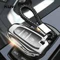 Tpu funda para llave de coche funda piel para Citroen C5 C6 C4L CACTUS C3XR DS para Peugeot Auto Smart Protection funda para llavero