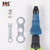 Electric Rivet Nut Gun Riveting Tool Cordless Riveting Drill Adaptor Insert Nut Tool
