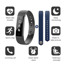 ZoneQuality  Fitness Tracker, Activity IP67 Water Resistant Smart Bracelet as Step Counter, Sleep Monitor, Pedometer