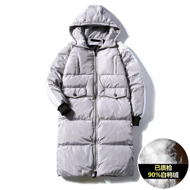 premium selection 73706 b93c2 US $64.0 |Uomo inverno 100% poliestere % 90 autentico piume d'anatra bianca  piumino giacca pacchetto di controllo di qualità in Uomo inverno 100% ...