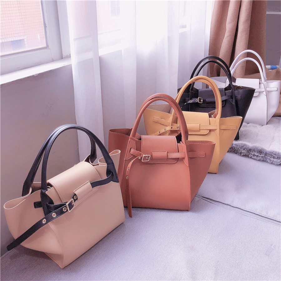 Bat Wings Women Handbag Top-handle Women Shoulder Bag Brand High Quality PU Leat