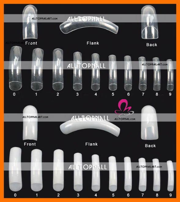 Empress Curve French Nail Tips For Acrylic Art 100pcs Free Shipping In False Nails From Beauty Health On Aliexpress Alibaba Group