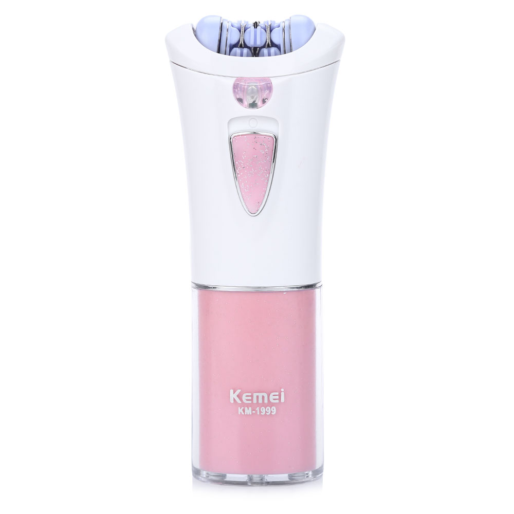 Kemei KM-1999 Depilatory Electric Female Epilator Women Hair Removal For Facial Body Armpit Underarm Leg Depilador Depilation