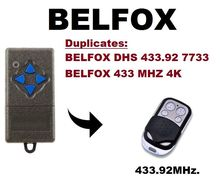 BELFOX DHS 433 MHZ 4K, DHS433(7733) 433.92mhz  Remote Control Duplicator only for fixed code