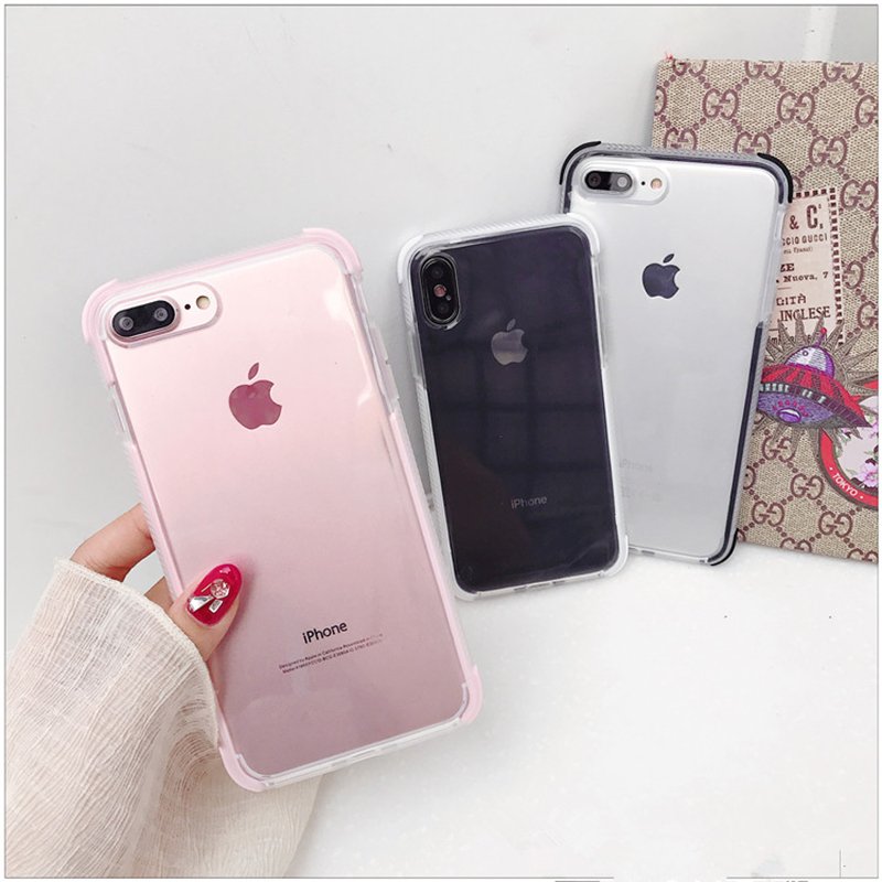 Clothes, Shoes & Accessories Kids' Clothes, Shoes & Accs. Lack Candy Color Anti-knock Clear Soft Cases For Iphone Xs Max Transparent Protector Back Cover For Iphone 8 Plus 6 6s 7 X Xr