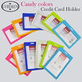 1pcs Fashion Passport Holder Identity ID Credit Card PVC Cover Bags candy color Business Passport Cover 11.3*7.5CM PY125