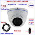2.0MP Starvis imx290 cctv camera 4 in 1 imx323 ahd camera 1080P AHD-H HDCVI HDTVI Color Night mode Security, 960H, 2.8-12mm Lens
