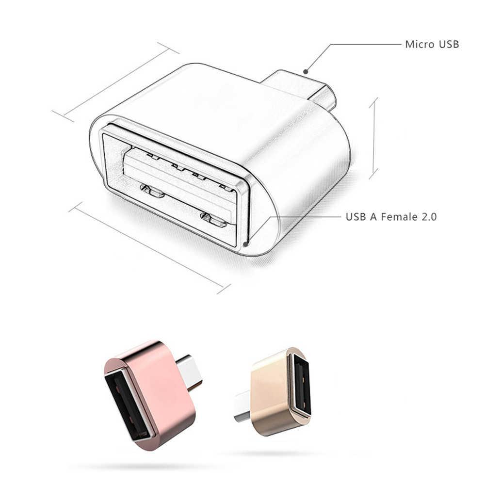 CatXaa mikro USB USB OTG adaptör OTG USB kablosu dönüştürücü Tablet için Samsung HTC Xiaomi Android telefon USB OTG Hug de adaptörü