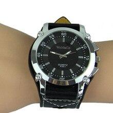Популярные модные мужские часы, брендовые Роскошные винтажные классические повседневные спортивные кварцевые военные наручные часы с большим циферблатом, армейские часы для мальчиков