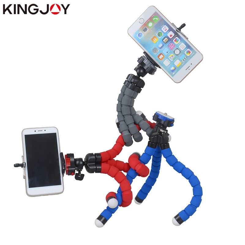 Kingjoy KT-600S Mini Trípode Pulpo Para Móvil Flexible Tripe - Cámara y foto - foto 2