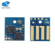 Freies verschiffen 2 Pcs 5 K LA 50F4H00 (504 H) toner patrone chip Für Lexmark MS310/MS410 laser drucker
