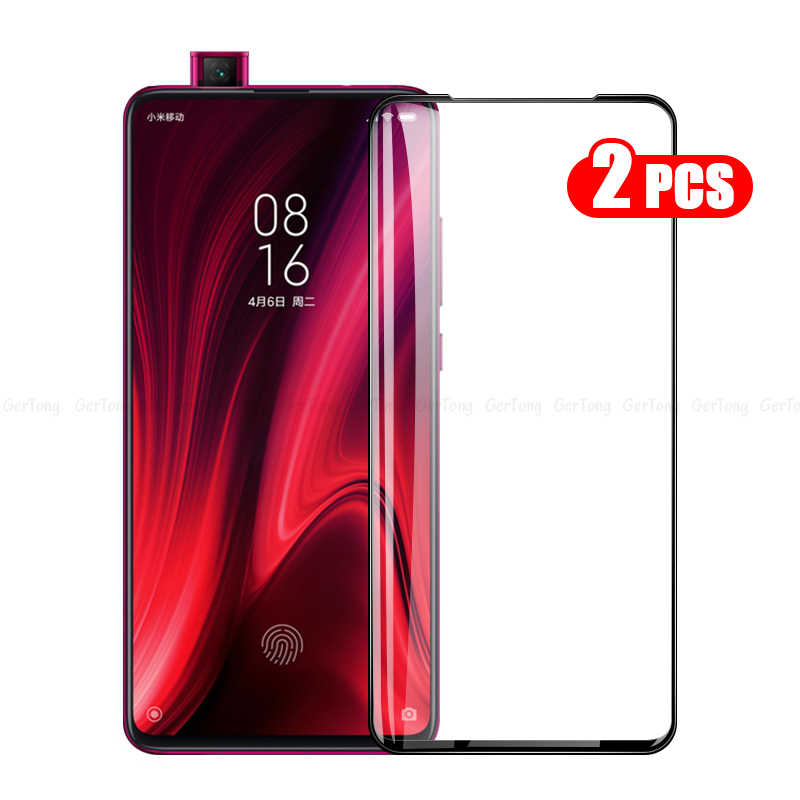 2Pcs/lot 9H 3D Tempered Glass for Xiaomi Redmi K20 Pro Full Cover Glass For Xiaomi Redmi K20 Pro Screen Protector Toughened Film