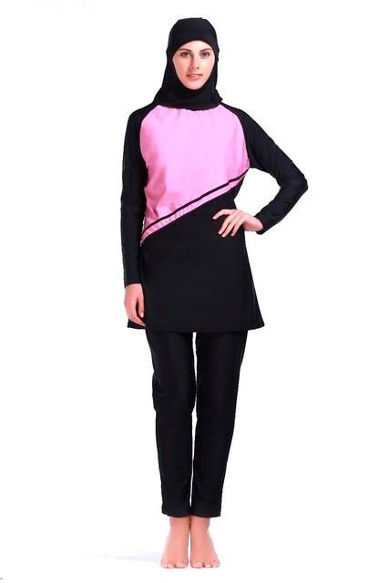 bdbbf796c9 Muslim Swimwear Full Body Swimsuit for Women 3 Piece Full Coverage Hijab  Swimwear for Sun Protection Islamic Modest Swimsuit