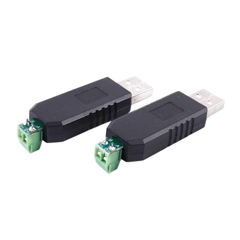 2x PC の USB に RS485 RS-485 インタフェースコンバータシリアルアダプタ互換 + PLC
