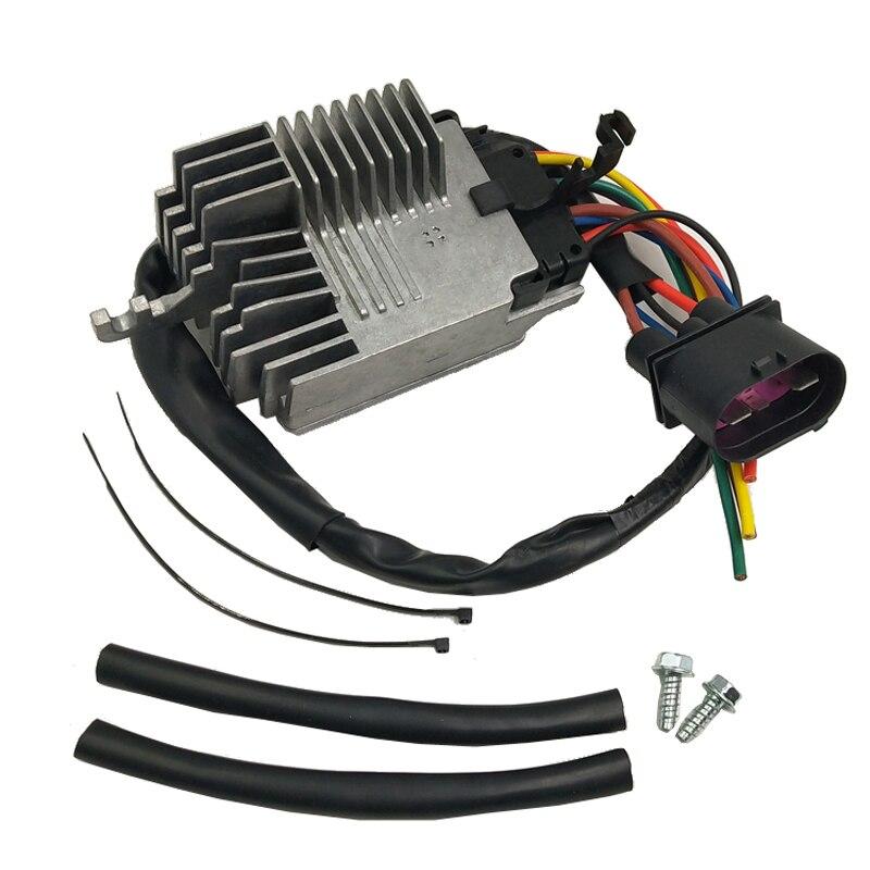 8E0959501AG RADIATOR FAN CONTROL UNIT MODULE Compatible For AUDI A4 A4 CABRIO 8E0959501G 8E0959501K 8E0959501AB e2c free shipping new radiator engine cooling fan for audi a4 quattro a4 oe 8e0 959 455k 8e0959455k