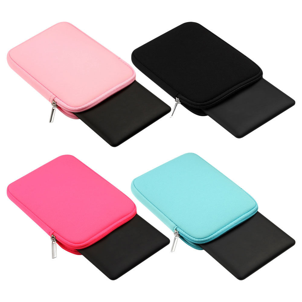 Shockproof Soft Tablet Liner Sleeve Pouch Bag for Apple ipad Mini 1/2/3/4 Air 1 2 Cover Case for ipad Pro 9.7 Inch +Stylus pen