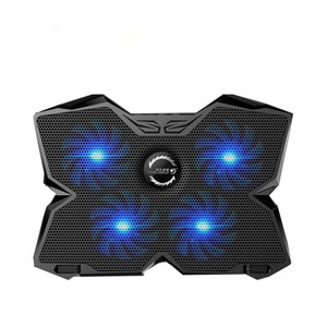 """Image 2 - Ice Magic 2 Cooler With 4 Silence Fans LED USB 2.0 Laptop Cooling Pad 12""""13""""14""""15""""17""""Laptop With Non slip Holder 2 USB Port"""